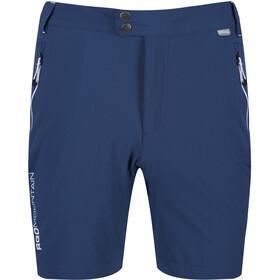 Regatta Mountain Spodnie krótkie Mężczyźni, niebieski